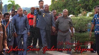 Gubernur Jalan Sore