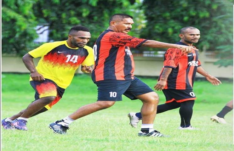 Kondisi Pemain Tim Sepakbola PON Papua Mulai Ada Perubahan