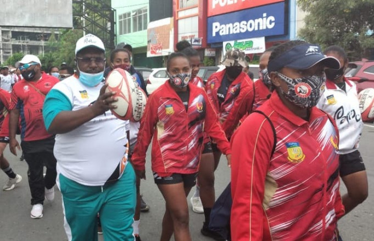 National Sports Day, KONI Papua Held Healthy Road
