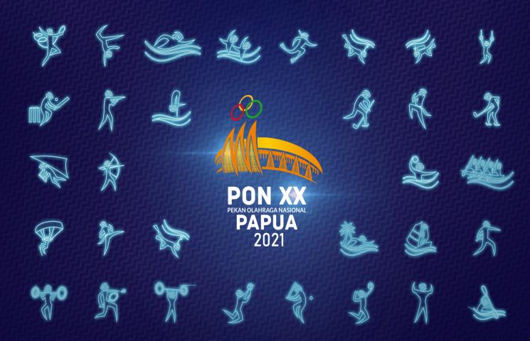 Pertama di Indonesia, 56 Disiplin Cabor PON XX Dibuatkan Animasi Piktogram