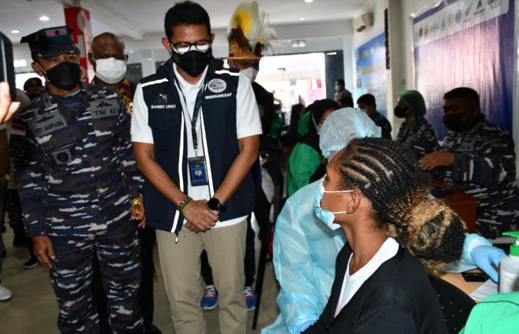 Menparekraf : Tamu PON XX Jangan Lupa Beli Produk Lokal Papua