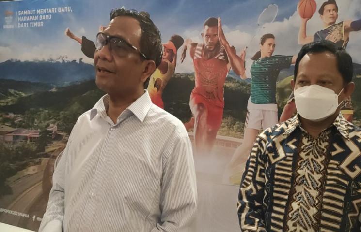 Mahfud MD : Persiapan Pembukaan PON Sudah 100 Persen
